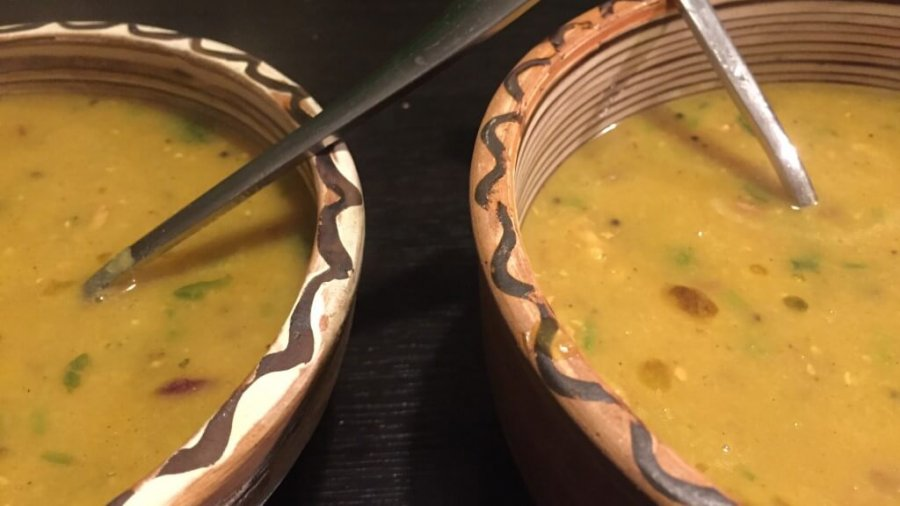 Indische Linsensuppe, Dal Suppe