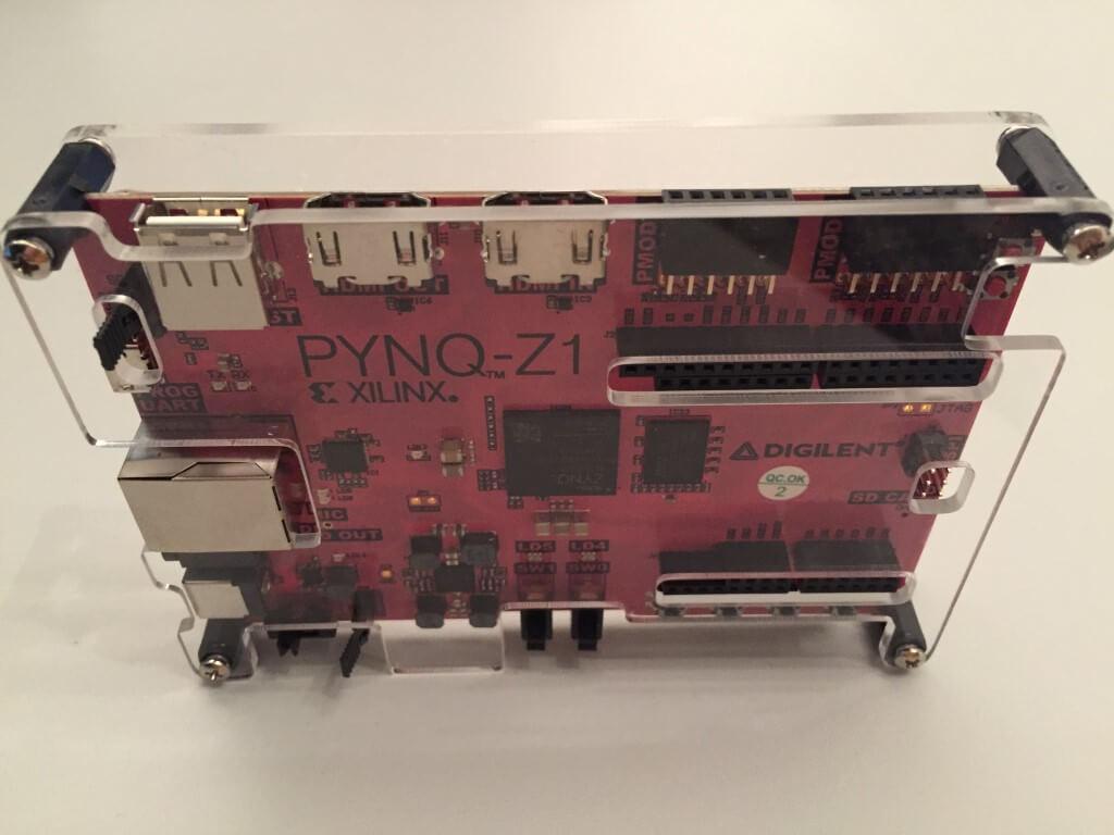 Plexiglas-Abdeckungen: Empfohlene Ergänzung für PYNQ-Z1