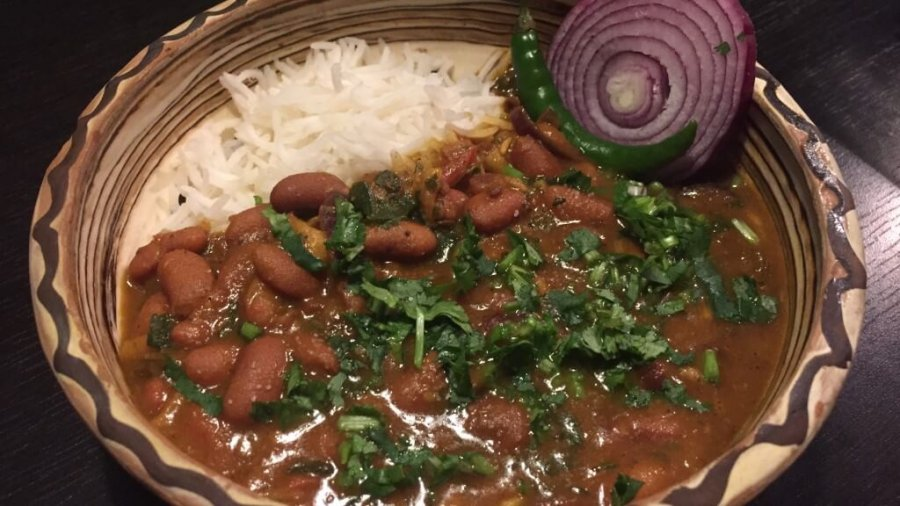 Rajma Masala (Kidneybohnen Curry) in Frankfurt