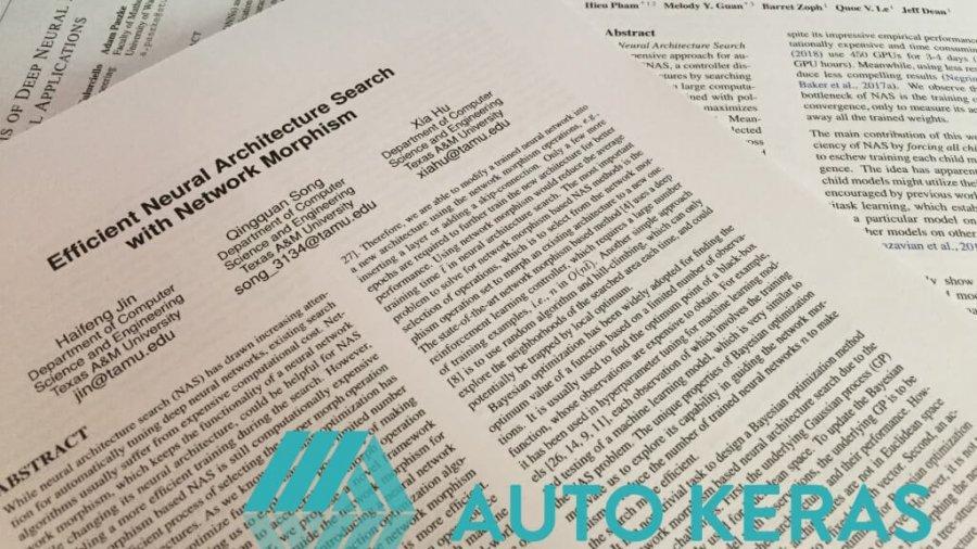Auto-Keras: zugängliches AutoML für Deep Learning
