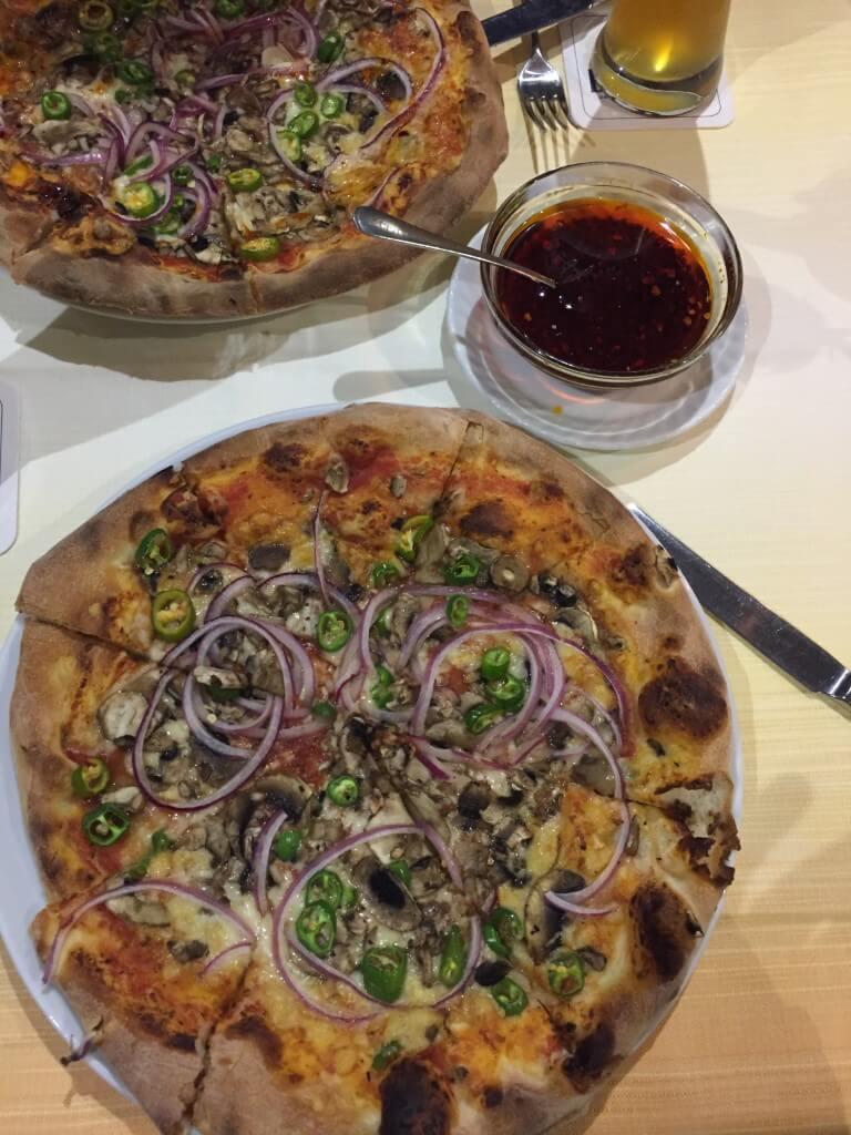 Beste Pizza Frankfurt
