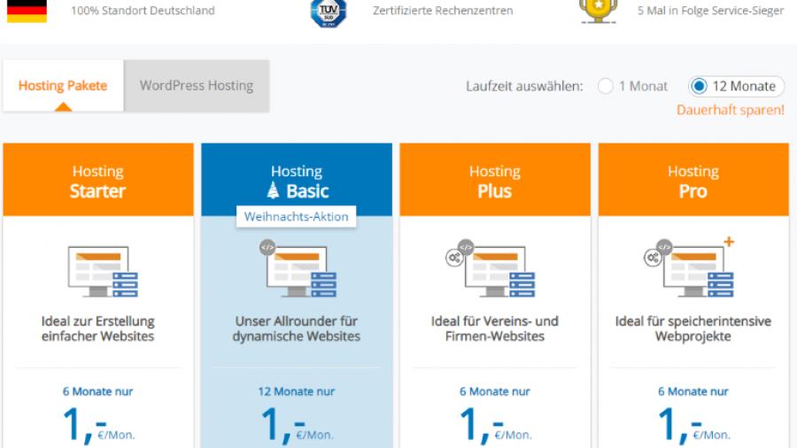 Webhosting Vergleich: Deutschland vs Rumänien