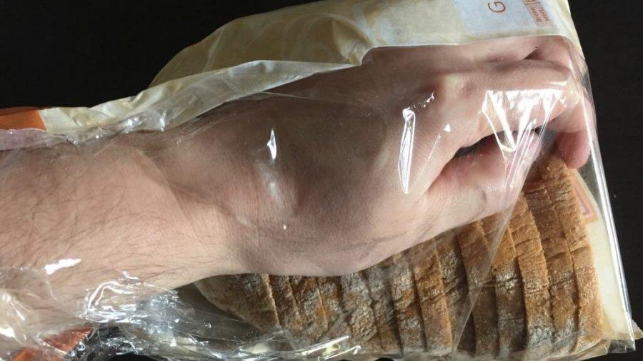 Orientierung des Brotes ist falsch!