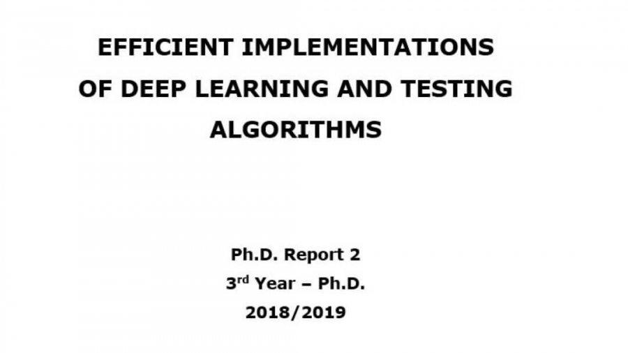 Ph.D. Report 2 wurde gestern präsentiert