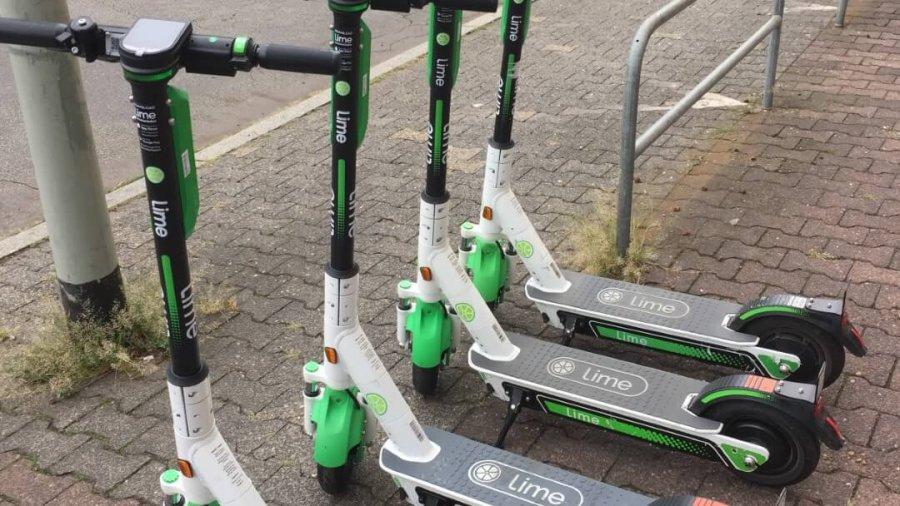 Ein neuer Trend in Frankfurt: E-Roller