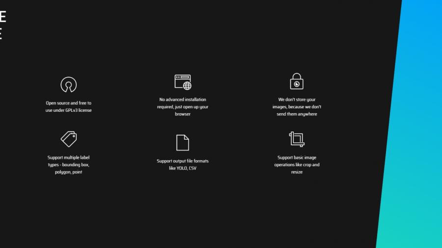 makesense.ai, ein kostenloses Online-Tool zur Beschriftung von Fotos