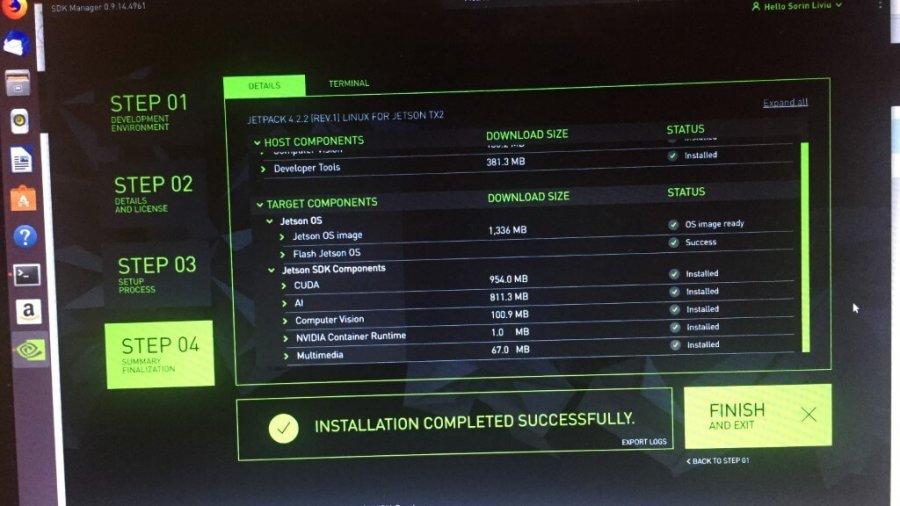 Der Schmerz des Flashens von Jetson OS auf dem Nvidia Jetson TX2 Development Kit Board