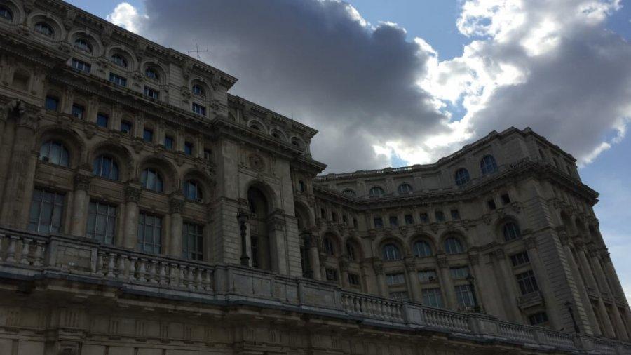 Besuch in Bukarest und im Palast des Volkes