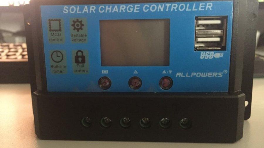 12V /24V /20A Solar Ladegerät Controller