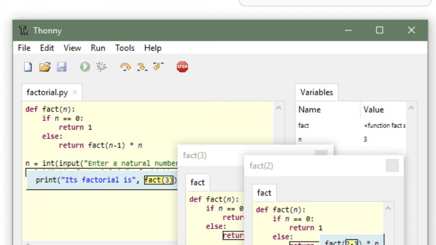 Thonny – die beste Python-IDE für Anfänger