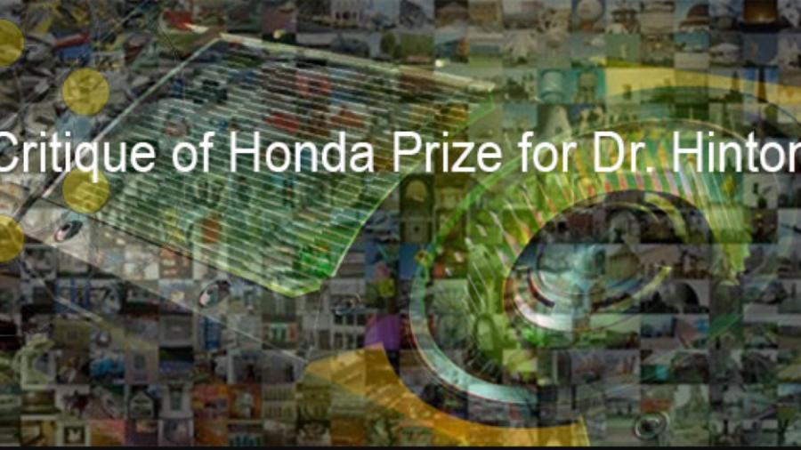 Kritik des Honda-Preises für Dr. Hinton