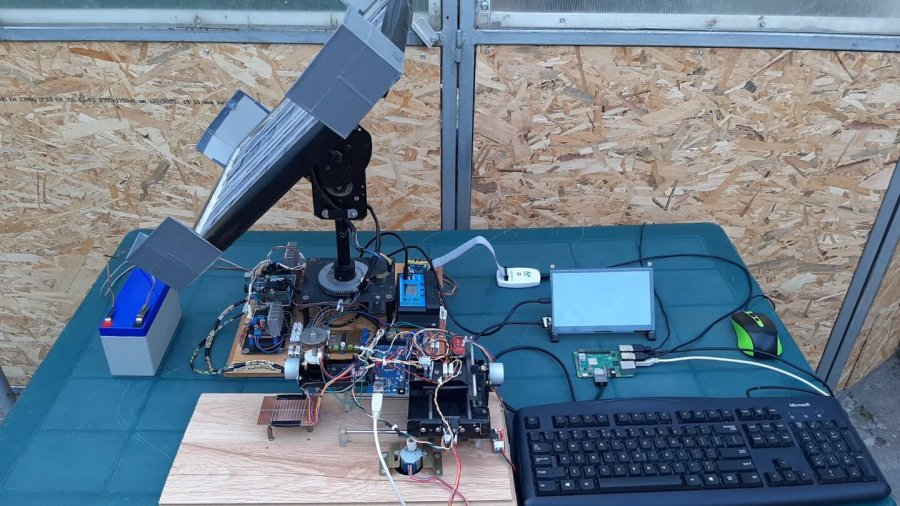Hybrid Testing of a Solar Tracking Equipment using In-Circuit Testing and JTAG Debugging Strategies